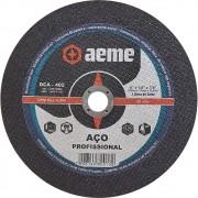 Disco de Corte Aço Profissional Aeme DCA 402 9 x 1/8 x 7/8