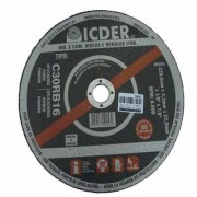 "Disco de Corte Ferro Fundido Icder C30RB16 12"" x 3/16"" x ¾"""