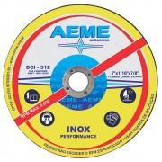 "Disco de Corte Fino Aeme para Inox DCI 512 7"" x 1,6mm"