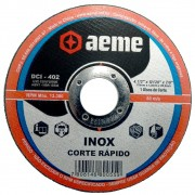 Disco de Corte Fino para Inox Aeme DCI 402 4.1/2 x 1,0mm