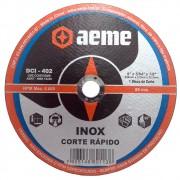 Disco de Corte Fino para Inox Aeme DCI 402 9 x 2,0 mm