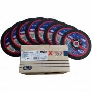 "Disco de Corte Fino para Inox Tyrolit Xpert 7"" x 1,6mm - 50 peças"