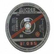Disco de Corte para Aço Icder 10 x 1/8 x 1