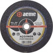 Disco de Corte para Aço / Inox Aeme DCA 502 9 x 1/8 x 7/8