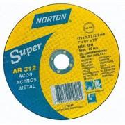"""Disco de Corte para Aço Norton Super AR 312 10"""" x 1/8"""" x 3/4"""""""