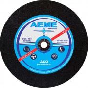 Disco de Corte para Aço Profissional Aeme DCA 401 10 x 1/8 x 3/4 Pol