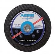 Disco de Corte para Ferro Fundido Aeme DCFF 533 12 x 1/4 x 5/8 - 15 Peças