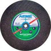 Disco de Corte Refratário Aeme DCR 522 12 x 1/8 x 5/8