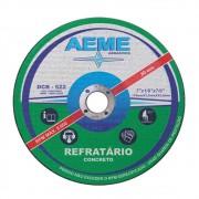 Disco de Corte Refratário Aeme DCR 522 4.1/2 x 1/8 x 7/8