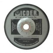 """Disco de Desbaste Icder Inox DAA75 9"""" x 1/4"""" x 7/8"""""""