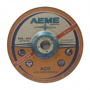 "Disco de Desbaste para Aço Aeme DDA 603 9"" x 1/4"" x 7/8"""