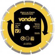 Disco Diamantado 230mm Segmentado V3 Vonder
