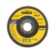 "Disco Flap 4.1/2"" Dewalt Costado Fibra Angular DW8307 G40"