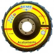 Disco Flap Acabamento 4.1/2 FVC Fino Aeme