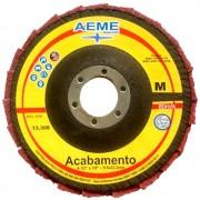 Disco Flap Acabamento 4.1/2 FVC Médio Aeme