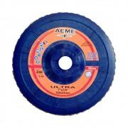 "Disco Flap Aeme Ultra 7"" Costado Nylon Reto G60"