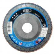 Disco Flap Nylon 4.1/2 Pol Premium Longlife C-Trim Tyrolit 80G