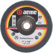 Disco Flap Performance 7 Pol Aeme Costado Fibra Angular G60