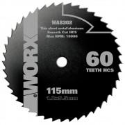 Disco Serra Aço Rápido WA8302 Worx para WX429/WX439