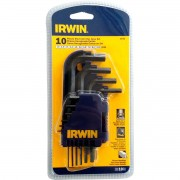 Jogo de Chave Allen Irwin 10 Peças 1,5 a 10mm
