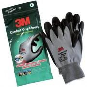 Luva de Malha Emborrachada 3M Comfort Grip GG