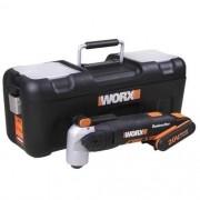 Multiferramenta Oscilante Sonicrafter à bateria Li Worx WX678 Bivolt