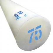 Nylon em Barra Nitaplast Nitanyl PA6 75mm