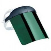 """Protetor Facial 8"""" Verde Plasticor"""