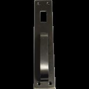 Puxador de Porta 735 Fume com Furo Imab