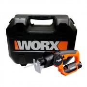Serra 2 em 1 Trans4mer com Bateria de Lítio 12v Li Worx WX540.3