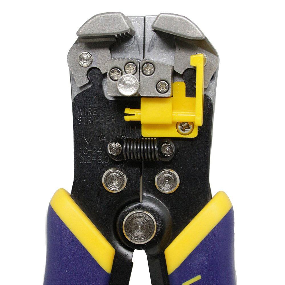 Alicate Eletricista Descascador de Fios Auto Ajustável Irwin