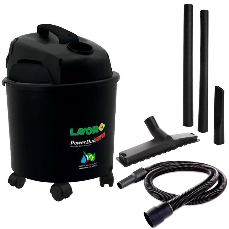Aspirador de Pó e Líquido 14 Litros 1250W Power Duo New LAVOR