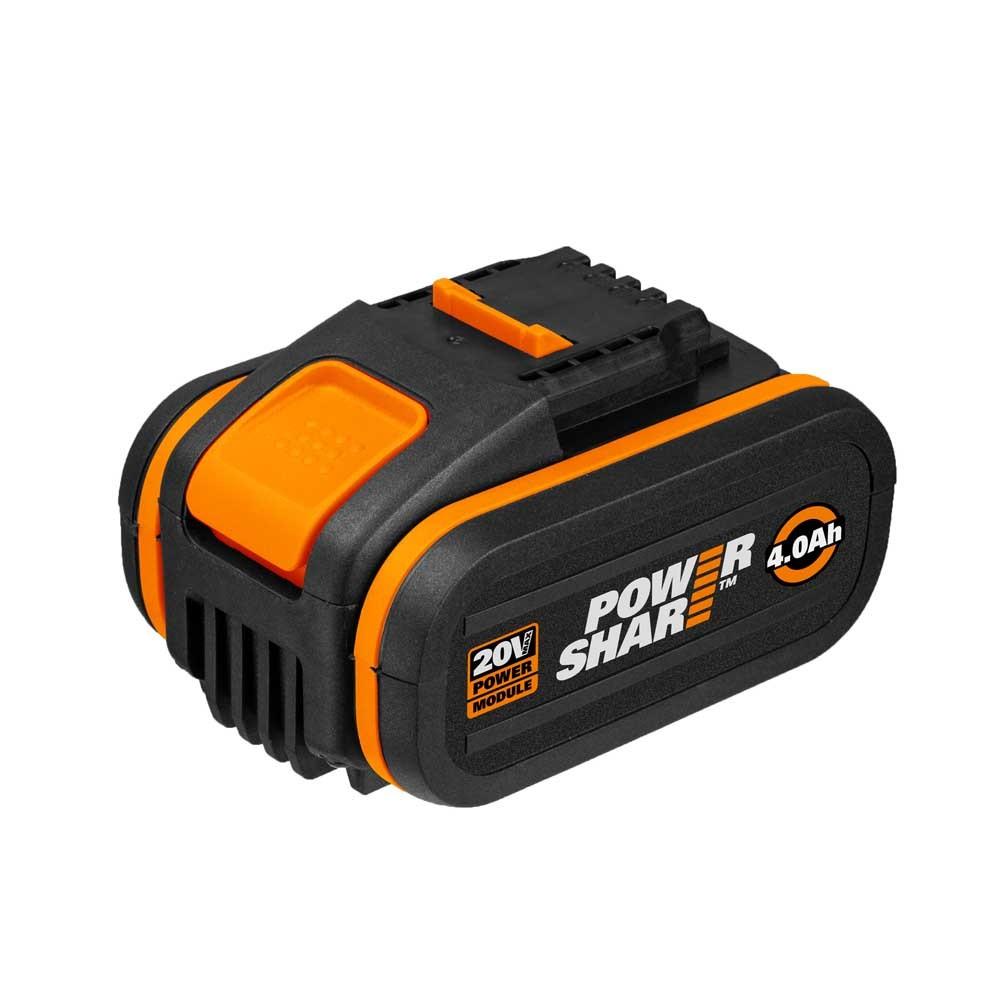 Bateria 4.0AH 20V + Carregador PowerShare WORX