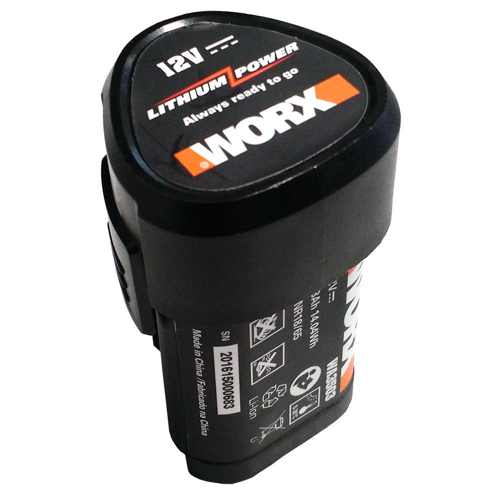 Bateria de Lítio 12v Worx WA3503