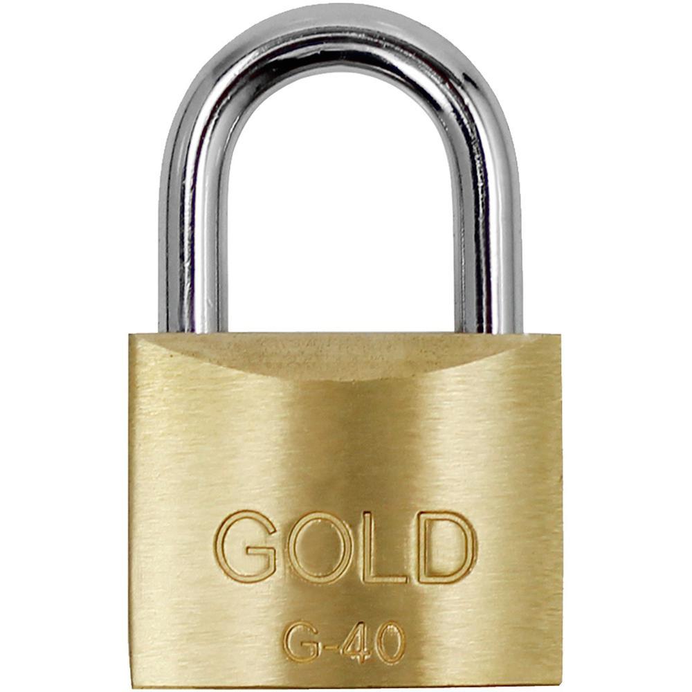Cadeado de Latão Maciço G-40mm Gold