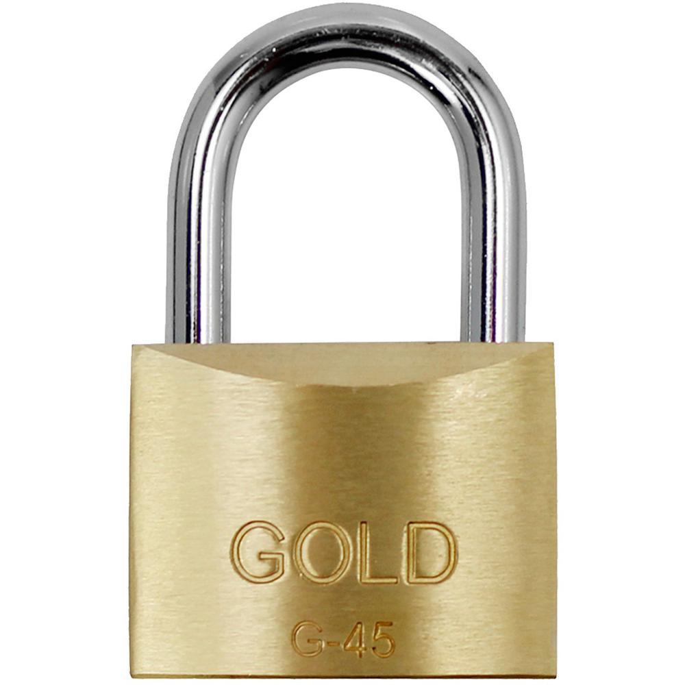 Cadeado de Latão Maciço G-45mm Gold