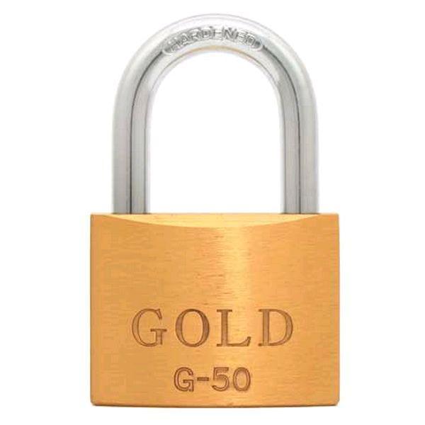 Cadeado de Latão Maciço G-50mm Gold