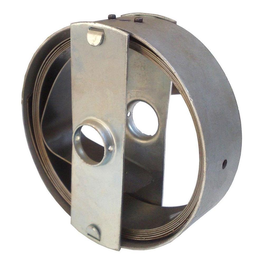 """Caixa com Mola 45mm Porta de Aço 4 Metros Furo 1.1/4"""""""