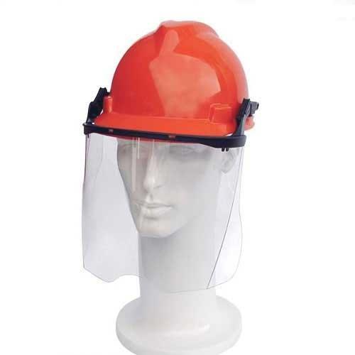 Capacete Acoplado Protetor Facial Incolor Ledan 958C Vermelho