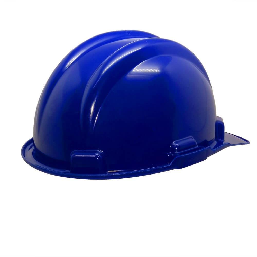 Capacete Plástico PLT Plastcor Azul
