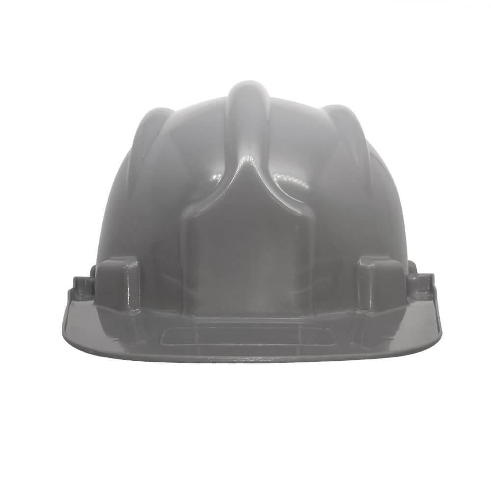 Capacete Plástico PLT Plastcor Cinza