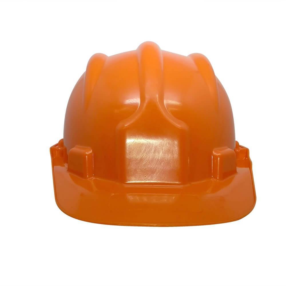 Capacete Plástico PLT Plastcor Laranja