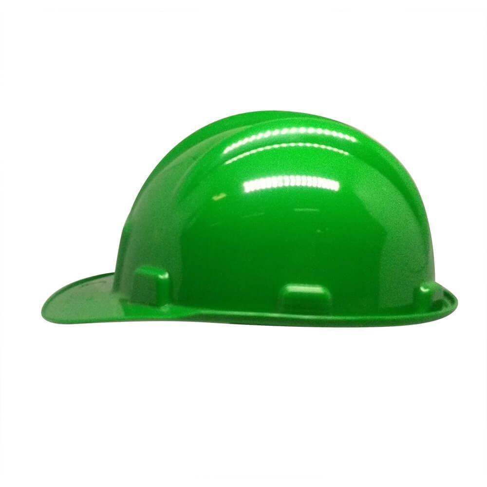 Capacete Plástico PLT Plastcor Verde