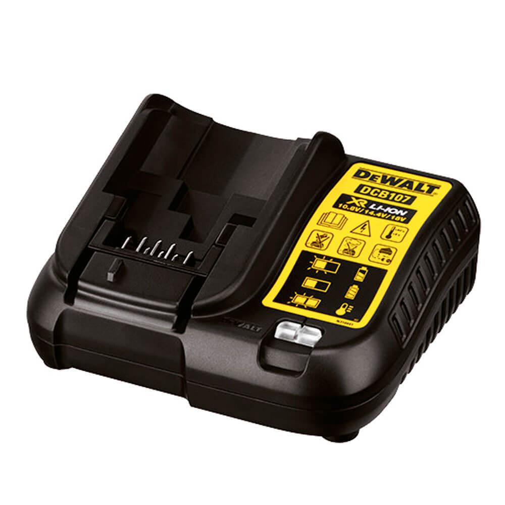 Carregador de Bateria 12V a 20V Dewalt DCB107 Bivolt