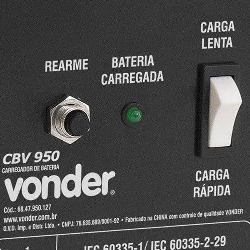 Carregador de Bateria Vonder CBV 950