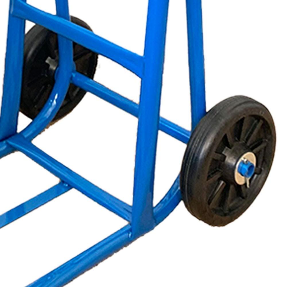 Carrinho de Carga Armazém Capacidade 150Kg com Roda Borracha - CARROLEVE