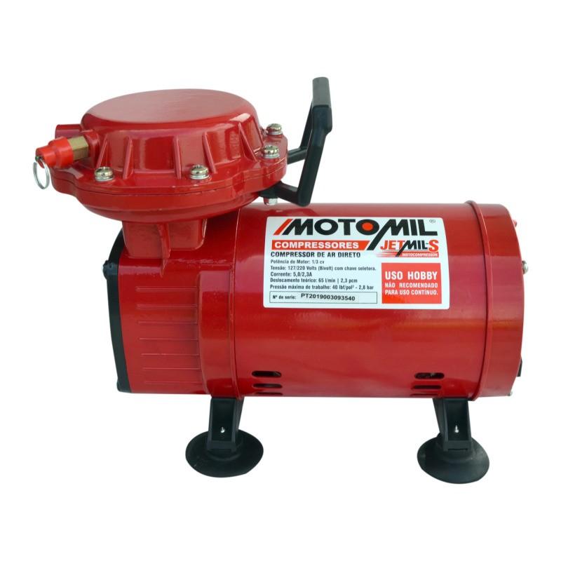Compressor Ar Direto 1/3 HP Jetmais Bivolt - MOTOMIL