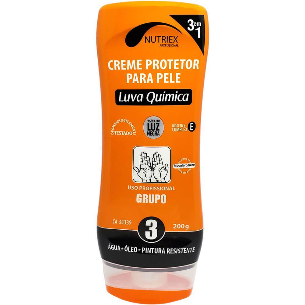 Creme Protetor para Pele Luva Química 3 em 1 Nutriex 200g