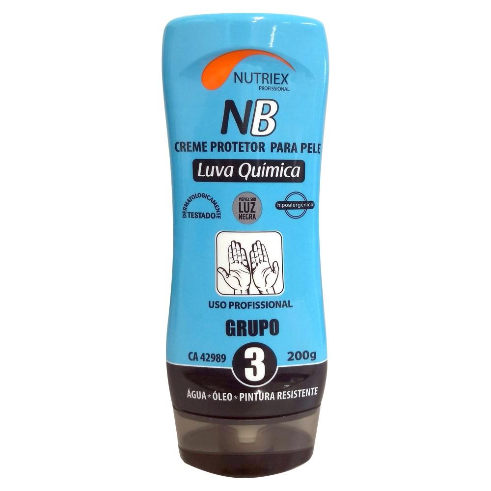 Creme Protetor para pele Luva Química NB GR 3 CA 42989 Nutriex