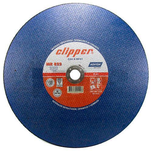 Disco de Corte Clipper Norton MR 822 12 x 1/8 x 1